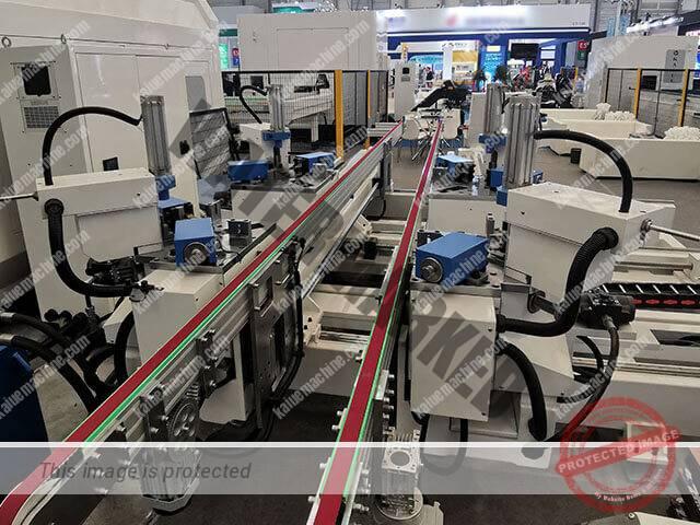2019 BAU China CNC Corner Crimping Line Kaiue