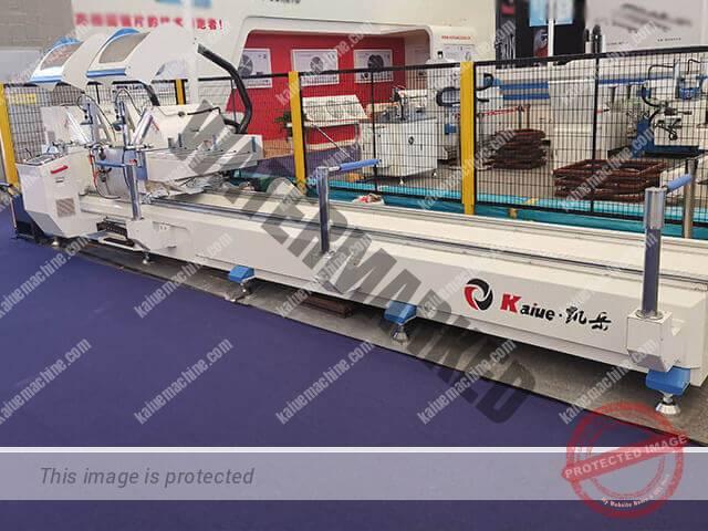 2019 BAU China CNC Double Head Curve Saw 550 Kaiue