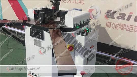 Single Head Corner Crimping Machine 120 2