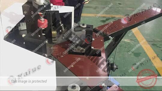 Single Head Corner Crimping Machine 120 Details 1