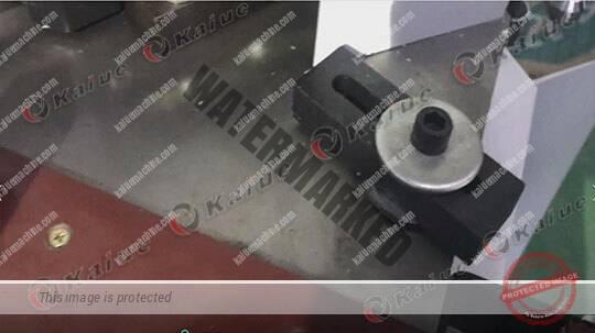 Single Head Corner Crimping Machine 120 Details 2
