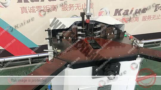 Single Head Corner Crimping Machine 120B 2
